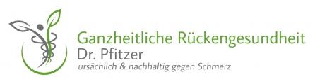 Ganzheitliche Rückengesundheit Dr. Pfitzer Logo
