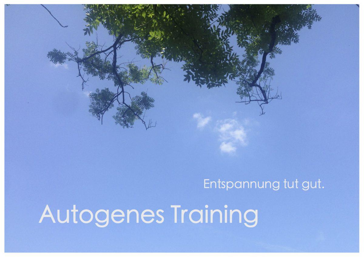 Postkarte Autogenes Training