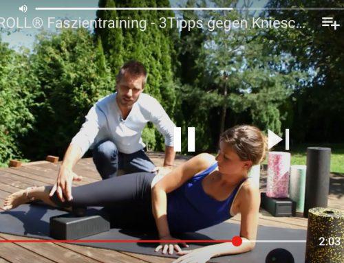 BLACKROLL Faszientraining – 3 Tipps gegen Knieschmerzen (Video)