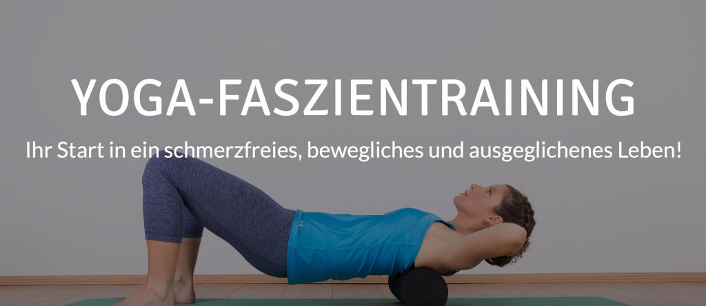 Onlineprogramm Yoga Faszientraining