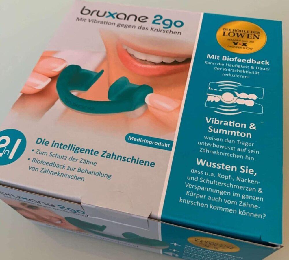 Bruxane b2go Schiene mit Biofeedback gegen Bruxismus